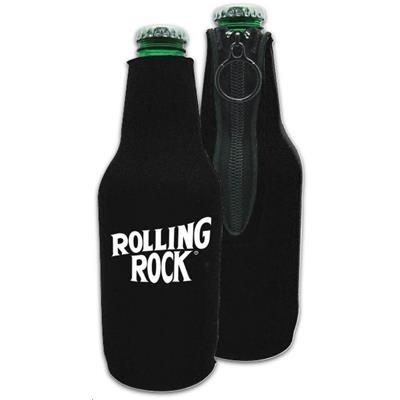 Picture of SILKSCREEN WINE BOTTLE COOLER with Zipper