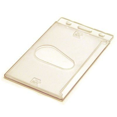 Picture of BLANK STOCK HARD PLASTIC CARD HOLDER