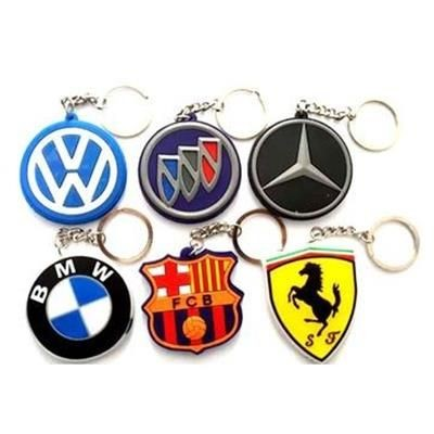 Picture of CUSTOM SHAPE PVC KEYRING CHAIN