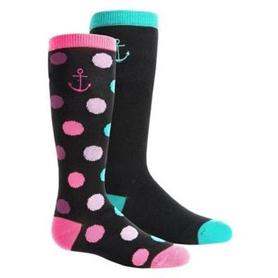 Picture of KNEE HIGH JACQUARD SOCKS