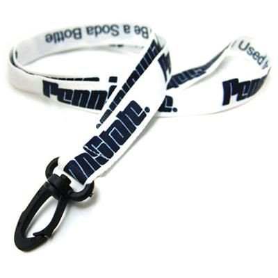 Picture of 3 - 4 INCH SILKSCREENED RECYCLED LANYARD with Detachable Buckle