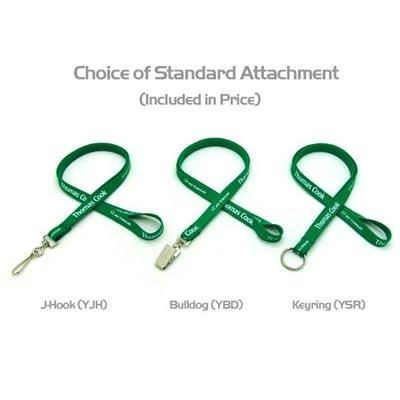 Picture of SILKSCREENED TUBULAR LANYARD with 3 Day Service -