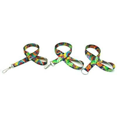 Picture of OCEAN IMPORTED 7 - 8 INCH DIGITAL SUBLIMATED LANYARD