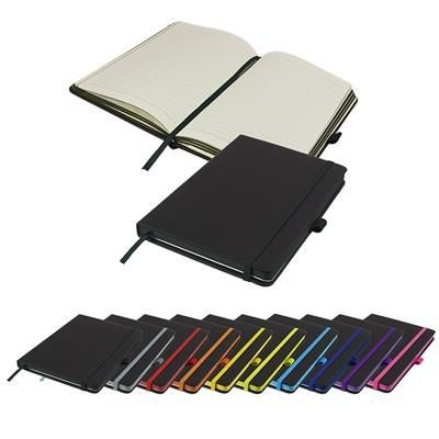 Picture of DENIRO EDGE A5 LINED SOFT TOUCH NOTE BOOK