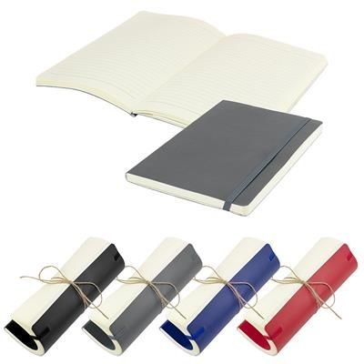 FLEX A5 FLEXI LINED SMOOTH THERMAL INSULATED PU NOTE BOOK in Grey