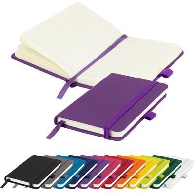 MORIARTY A6 LINED SOFT TOUCH PU NOTE BOOK 196 PAGES in Purple
