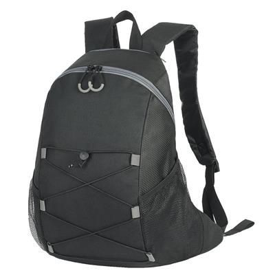 Picture of CHESTER BACKPACK RUCKSACK in Black