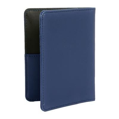 Picture of PALERMO PASSPORT COVER in French Navy
