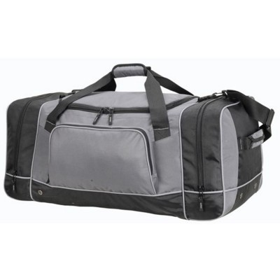 Picture of CHICAGO GIANT SPORTS HOLDALL BAG in Grey & Black