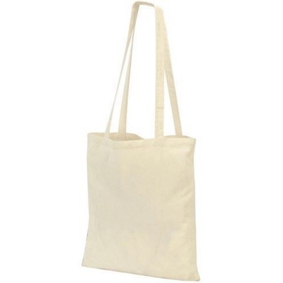 Picture of GUILDFORD COTTON SHOPPER TOTE SHOULDER BAG in Natural