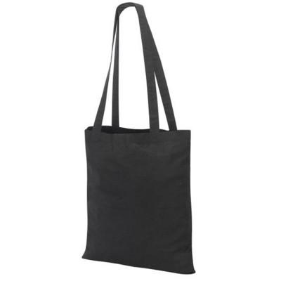 Picture of GUILDFORD COTTON SHOPPER TOTE SHOULDER BAG in Black