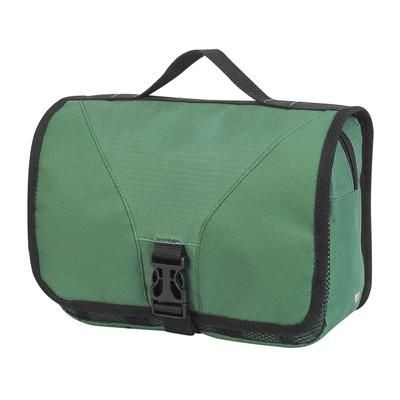 Picture of BRISTOL FOLDING TRAVEL TOILETRY BAG in Paramedic Green