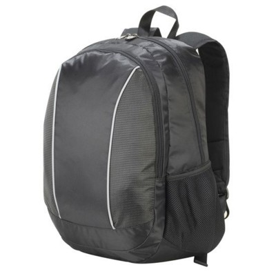 Picture of ZURICH LAPTOP BACKPACK RUCKSACK in Black with Black Dotted Pattern