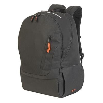 Picture of COLOGNE ABSOLUTE LAPTOP BACKPACK RUCKSACK in Black Mélange