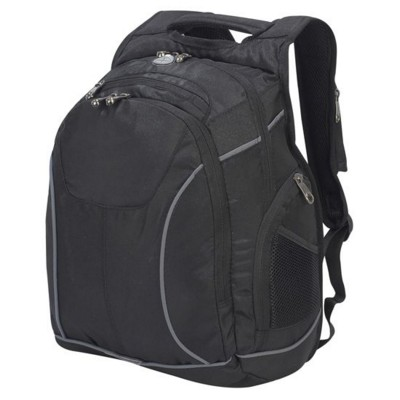 Picture of TORONTO LAPTOP BACKPACK RUCKSACK in Black