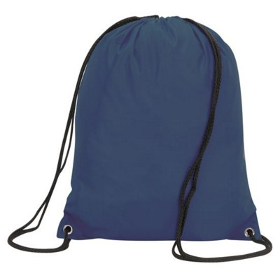 Picture of STAFFORD DRAWSTRING TOTE BACKPACK RUCKSACK in Navy Blue