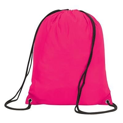 Picture of STAFFORD DRAWSTRING TOTE BACKPACK RUCKSACK in Hot Pink
