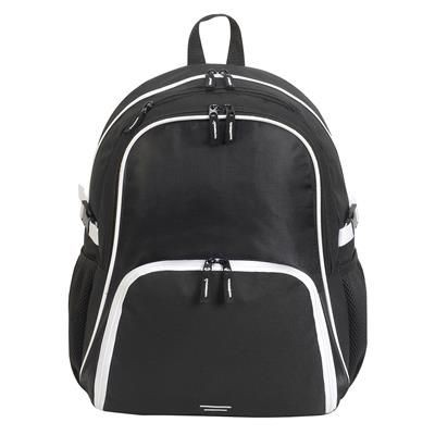Picture of KYOTO ULTIMATE BACKPACK RUCKSACK in Black & White