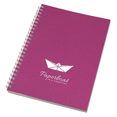 Picture of ENVIRO-SMART - A5 CRAFT COVER WIRO NOTE PAD