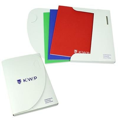 Picture of ENVIRO-SMART BOOK CASE DOCUMENT WALLET in White