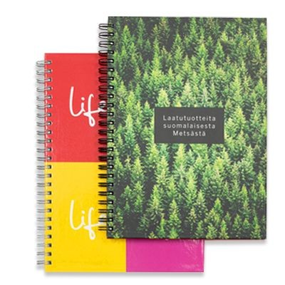 Picture of HARD COVER ECO-FRIENDLY WIRE-O BOUND NOTE BOOK