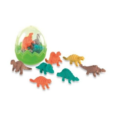 Picture of DINOSAUR RUBBER SET