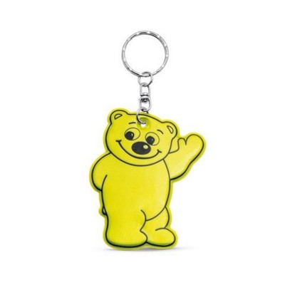 Picture of BERRY NEON FLUORESCENT KEYRING