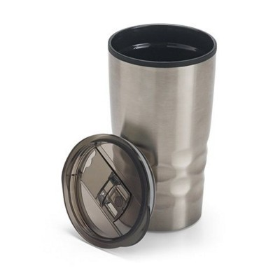 Picture of HASSI DOUBLE-WALLED STAINLESS STEEL METAL TRAVEL CUP