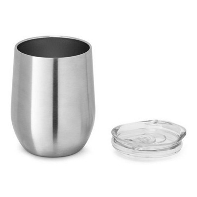 Picture of RONDE DOUBLE-WALLED STAINLESS STEEL METAL TRAVEL CUP
