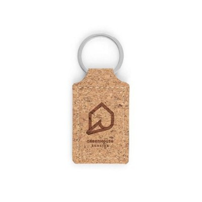 Picture of ALOY CORK KEYRING