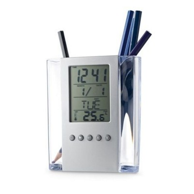 Picture of EDEM BALL PEN HOLDER with Digital Clock