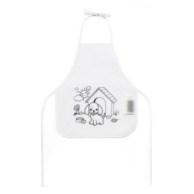 Picture of CHILDRENS COLOURING APRON