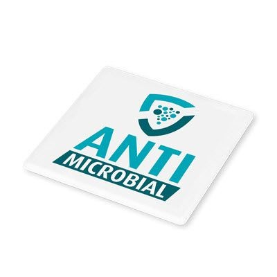 Picture of ANTIMICROBIAL SQUARE COASTER