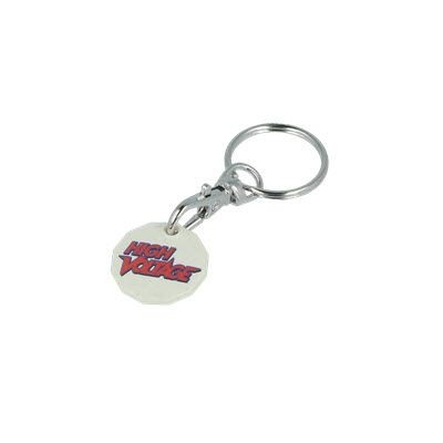 Picture of RHIPS B TROLLEY COIN KEYRING