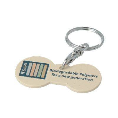 Picture of RHIPS B MULTI EURO TROLLEY STICK KEYRING