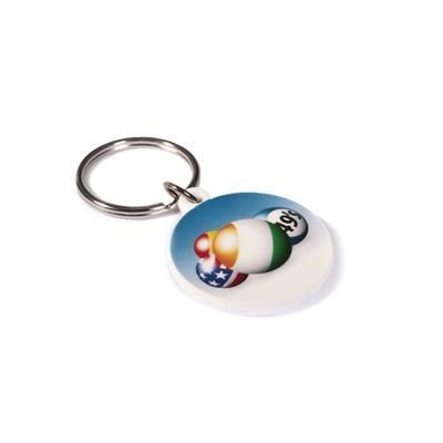 Picture of RECYCLED 30mm Circular Keyring
