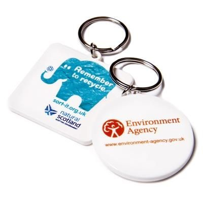 Picture of RECYCLED 45MM KEYRING