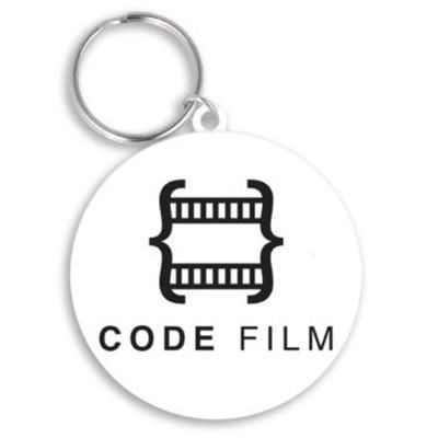 Picture of RECYCLED 55MM CIRCLE KEYRING