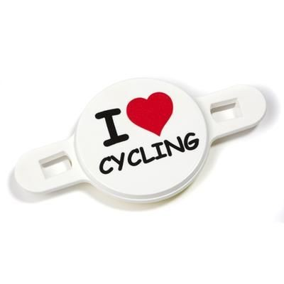 Picture of RECYCLED BICYCLE SPOKE BADGES