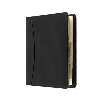 Picture of COLLINS ELITE COMPACT DAY TO PAGE APPOINTMENT DIARY in Black