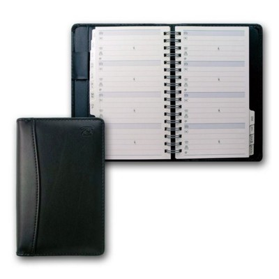 Picture of COLLINS ELITE SLIM PHONE ADDRESS BOOK in Black