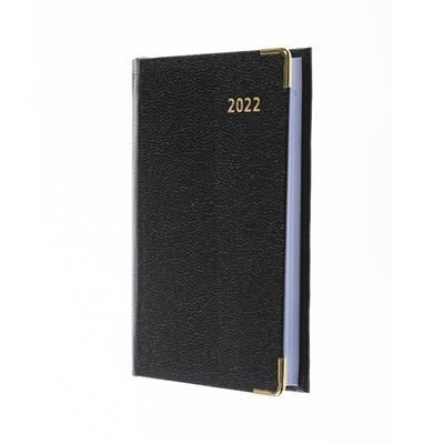 Picture of COLLINS BUSINESS POCKET REGAL WEEK TO VIEW DIARY with Pencil in Black
