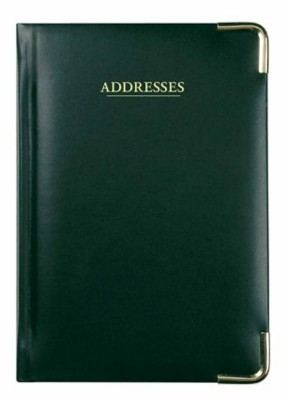 Picture of COLLINS CLASSIC A5 ADDRESS BOOK in Black