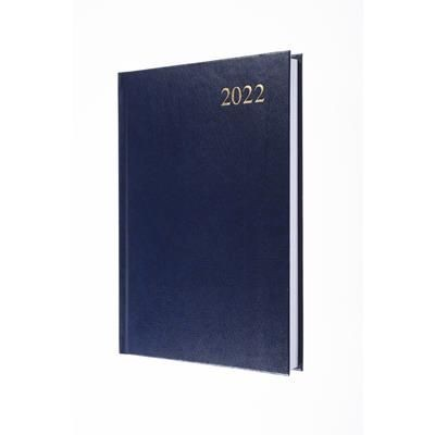 Picture of COLLINS ESSENTIAL A5 DAY PAGE DIARY in Blue