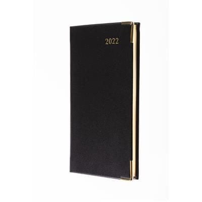 Picture of COLLINS CLASSIC SLIMCHART WEEK TO VIEW APPOINTMENT DIARY in Black