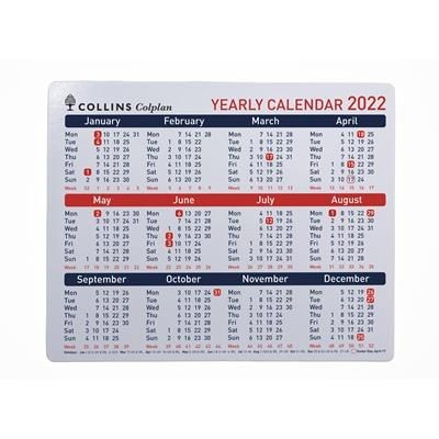 Picture of COLLINS COLPLAN YEARLY CALENDAR