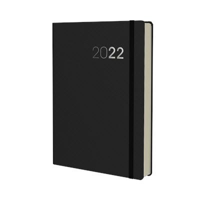 Picture of COLLINS LEGACY 2017 A5 DAY TO PAGE APPOINTMENT DIARY in Black