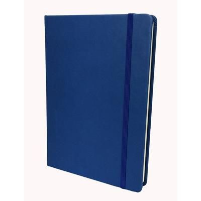Picture of COLLINS LEGACY A5 SOFT TOUCH NOTE BOOK in Blue