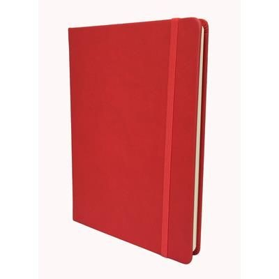 Picture of COLLINS LEGACY A5 SOFT TOUCH NOTE BOOK in Red