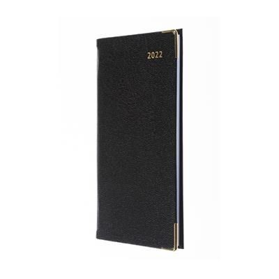 Picture of COLLINS BUSINESS POCKET SLIMCHART MONTH TO VIEW DIARY in Black